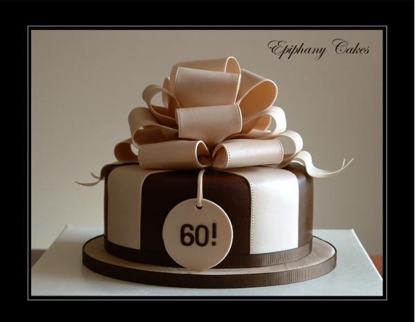 Cake With Bow Cake For Men Birthday Cakes Pinterest