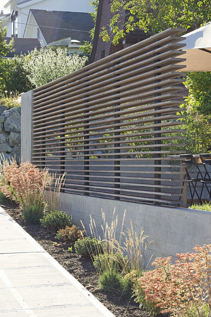 25 Best Ideas About Fence Design On Pinterest Modern Fence