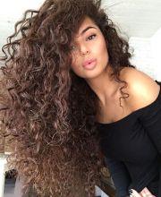 ideas long curly