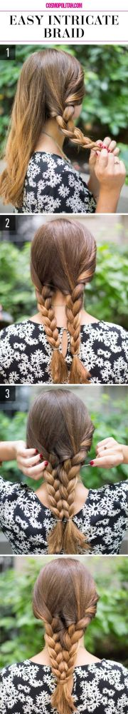 ideas easy lazy hairstyles