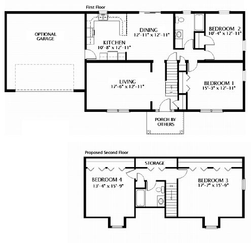 49 best images about Cape Cod Floorplans on Pinterest