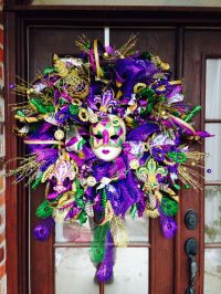 17 Best ideas about Mardi Gras Wreath on Pinterest | Mardi ...