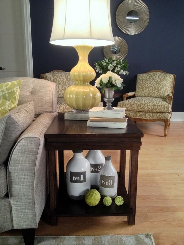 25 best ideas about Decorating end tables on Pinterest