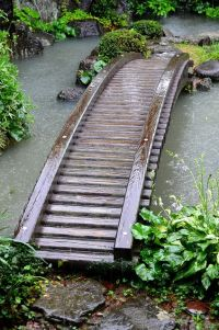 Samurai House Pond Bridge by pokoroto, via Flickr ...