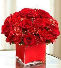 25+ Best Ideas about Red Flower Arrangements on Pinterest ...