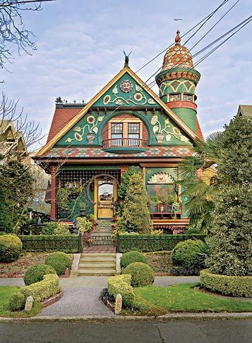 Coleman House Queen Anne Seattle WA  Favorite Places
