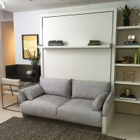 25+ best ideas about Murphy bed with couch on Pinterest