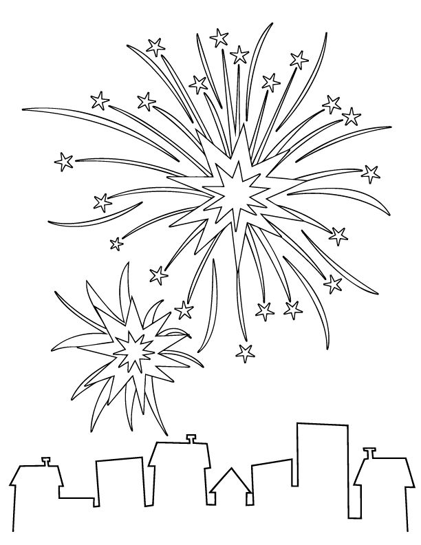 17 Best ideas about Firework Drawing on Pinterest