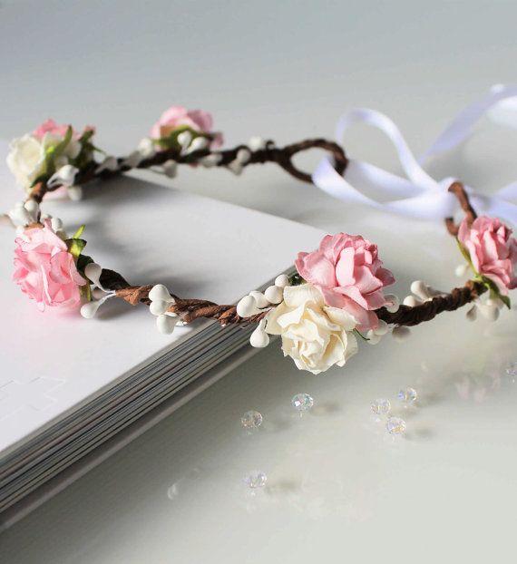 25 Best Ideas About Flower Girl Headpiece On Pinterest