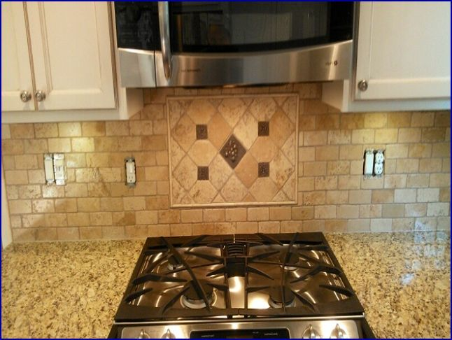 cheap backsplash for kitchen remodeling buffalo ny metal accent tiles | counter tops ideas ...