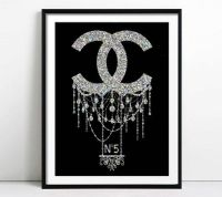25+ best ideas about Chanel wall art on Pinterest | Chanel ...