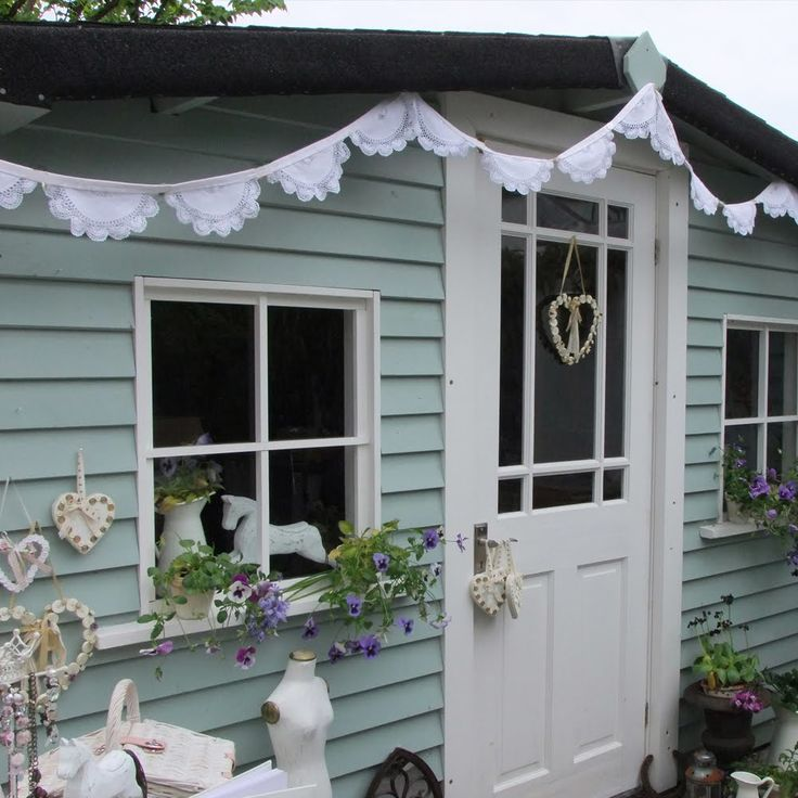 25 Best Ideas About Painted Shed On Pinterest Shed Paint