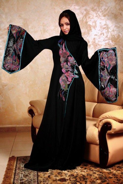 Latest Burqa And Abaya Designs For Ramzan Festival Niqab