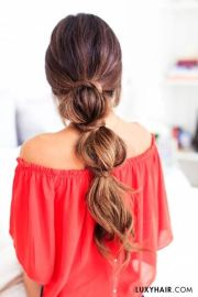 ideas lazy day hairstyles