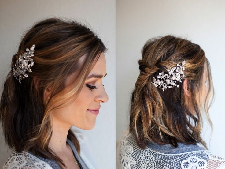 1000 Images About Hair Barrettes On Pinterest Updo Hair Clips