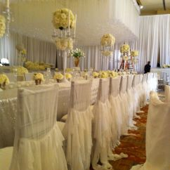 Chair Covers For Weddings Wedding Hire Hamilton Nz Nene Leakes' Reception With Over 400 White Chiffon And Rhinestone ...