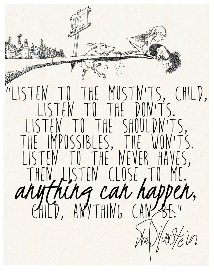 14 best images about Shel Silverstein Quotes on Pinterest