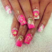 Top 25 ideas about Nails on Pinterest | Nail art, Flower ...