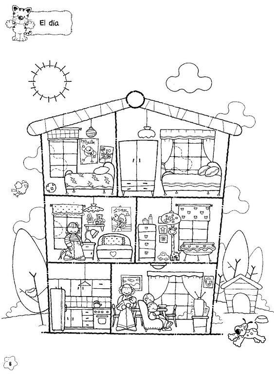 191 best Dollhouse Illustrations images on Pinterest