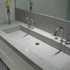 Refinish Kitchen Sink Home Depot Backsplash Trough Sink, Cement And Sinks On Pinterest