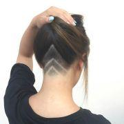 undercut ponytail ideas