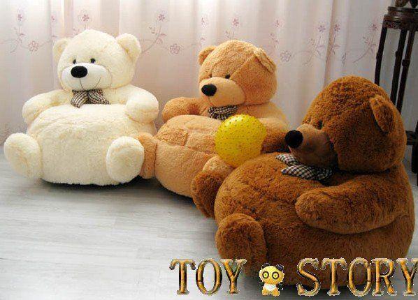 Buy SOFT CHAIR kid sofa plush sofa teddy bear STUFFED