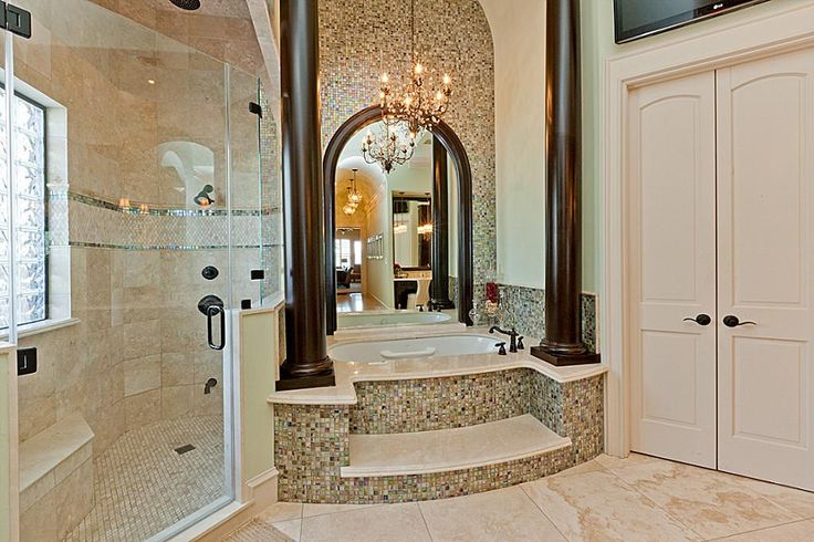WORDS SIMPLY CANNOT DESCRIBE THE MASTER BATH COMPLETE WITH