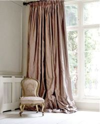 Dusty pink, Curtains and Pink on Pinterest