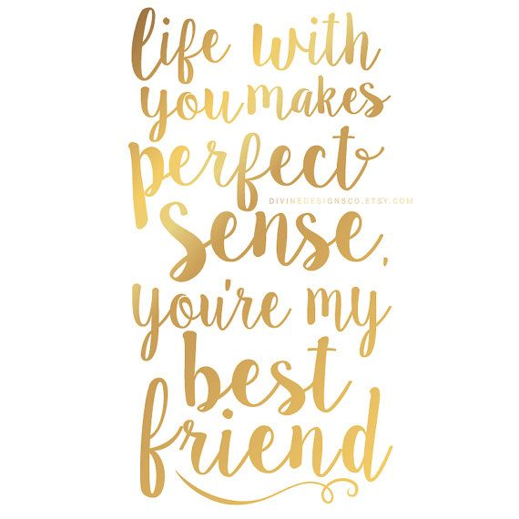 My Love My Best Friend Quotes