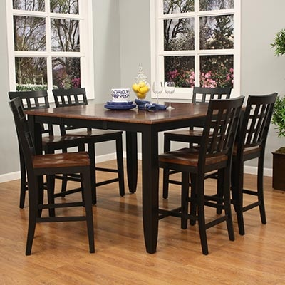 hightop kitchen table  chairs  For the Home  Pinterest