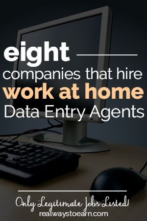 Are you interested in doing data entry work from home? While there are a lot of data entry scams out there, legit companies do