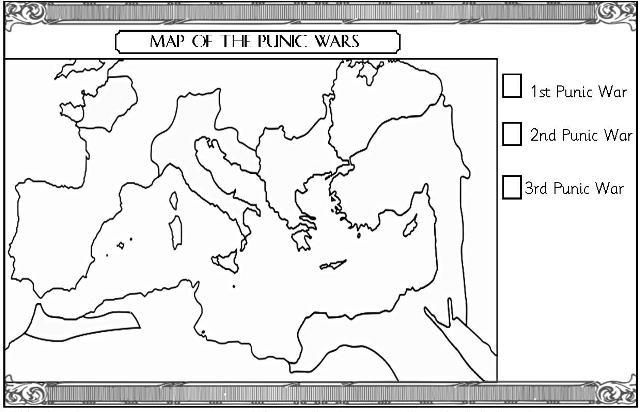 Map Of Ancient Rome Empire Coloring Pages