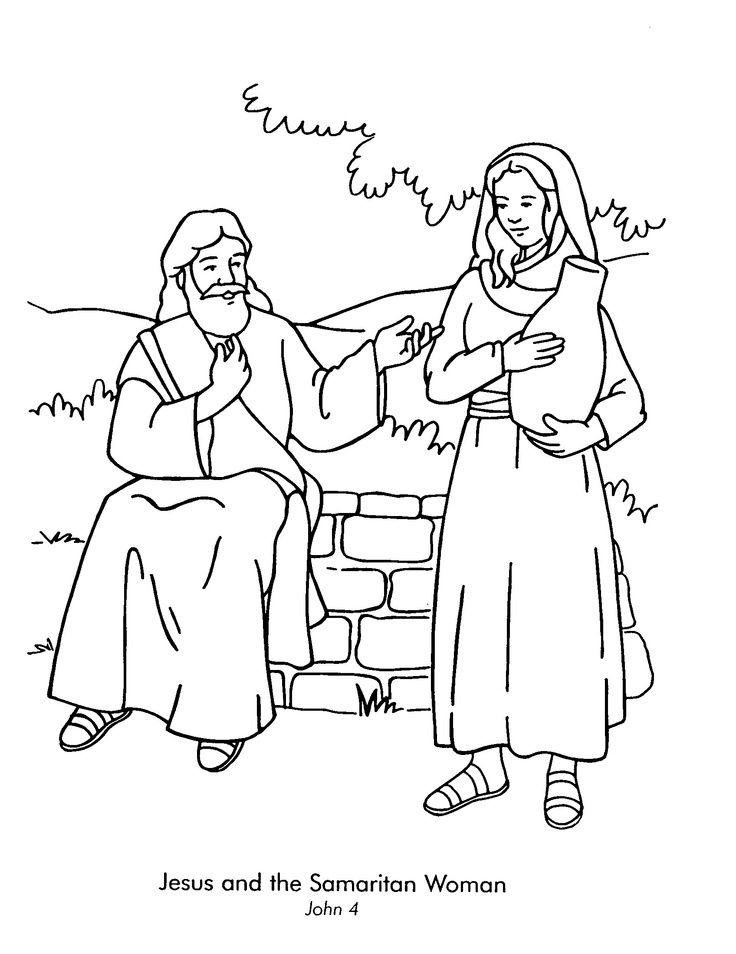 546 best images about Printable Bible Coloring Pages on
