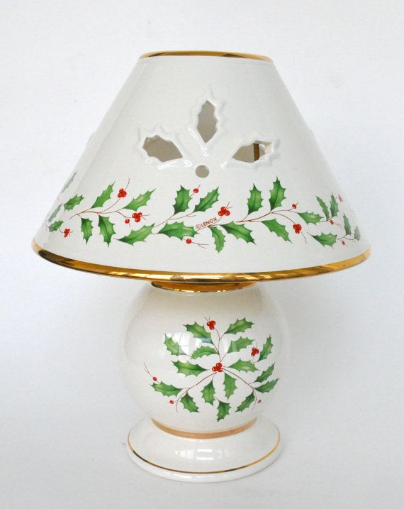 kitchen china dishes cosco stool lenox christmas holiday candle lamp. | ...