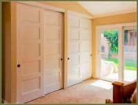 Sliding Bypass Closet Doors | Clean Organized Closets ...