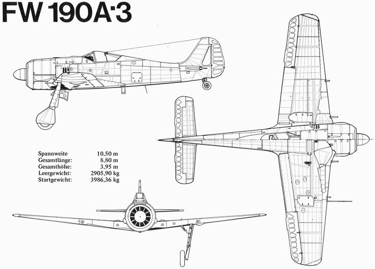 24 best images about Focke-Wulf Fw 190A on Pinterest