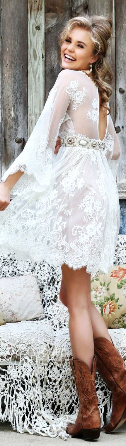 Top 25 best Simple country wedding dresses ideas on