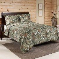 Mossy Oak Infinity Camo Comforter Set, Green