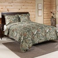 Mossy Oak Infinity Camo Comforter Set, Green | Mossy oak ...