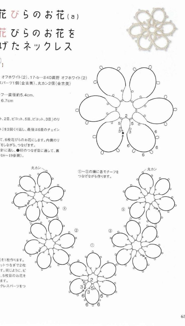 274 best images about tatting-pattern on Pinterest