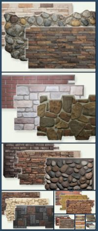 Faux Stone Panels, Faux Brick, Faux Wood | Natural Look ...