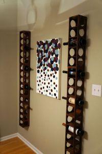 Vertical wine rack project | interior | Pinterest | Dr ...