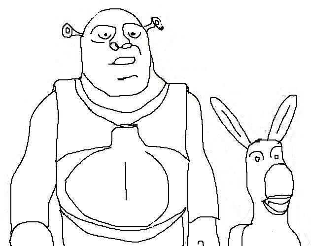 63 best images about Art Class- Shrek the Musical on