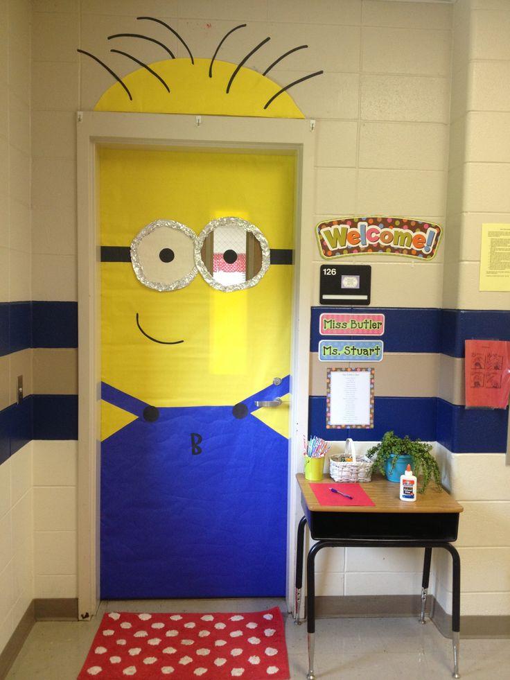 Despicable Me minion classroom door