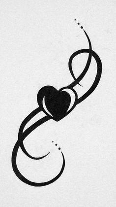 Top 25 ideas about Heart Tattoo Designs on Pinterest