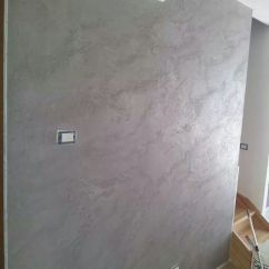 Ideas For Decorating Living Room Walls Shelves In Effetto Pietra Spaccata Calce   Effetti Materici ...