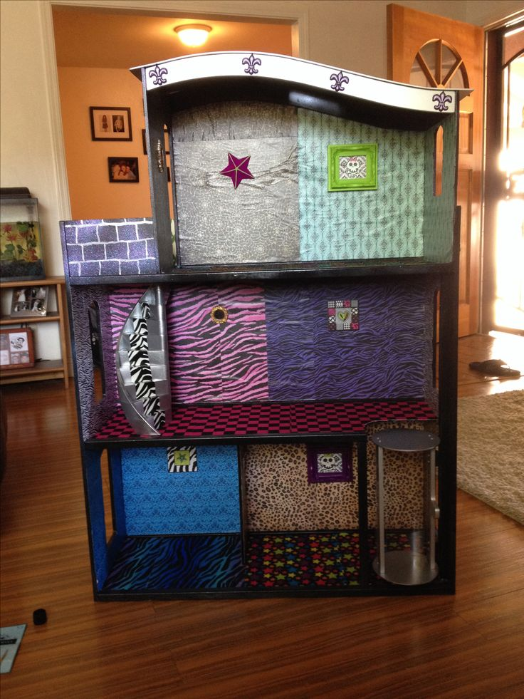 39 best images about Monster High Doll House Ideas on