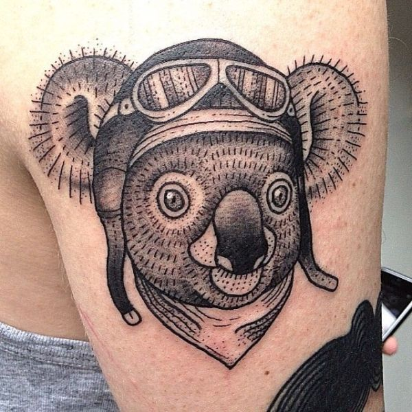 20 Panda Koala Tattoos Ideas And Designs