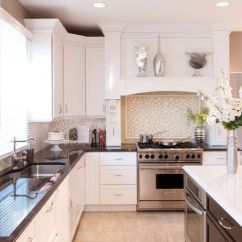 Cabinet Colors For Small Kitchens Kitchen Sink Base Candlelight Cabinetry: Madison (full Overlay) / Paint ...