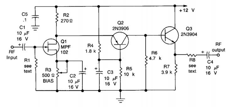 Tv Antenna Amplifier Schematic Digital Wire Antenna Plans